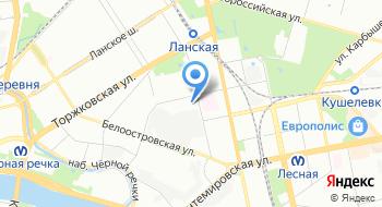 Карельский профиль СПб на карте