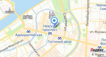 Лазертаг в СПб на карте