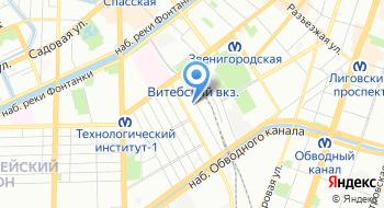Аутсорсинговая компания Интерсолюшен на карте