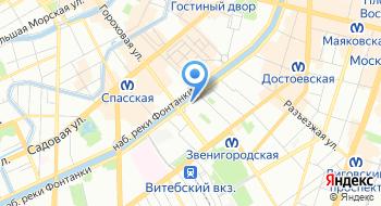 Военный комиссариат Ленинградской области на карте