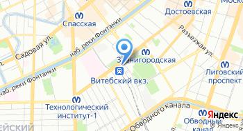 Управление Метростроя на карте