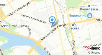 Хеликс СПб на карте