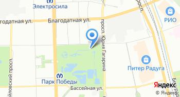 СПб ГУП Московский парк Победы на карте