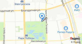 Московский Парк Победы на карте
