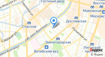 Техникум железнодорожного транспорта на карте