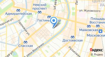 Жилищный комитет Санкт-Петербурга на карте