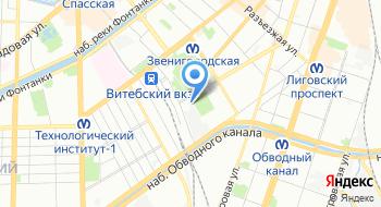 База отдыха Рубин на карте