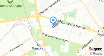 Межрайонная ИФНС России №17 по Санкт-Петербургу на карте