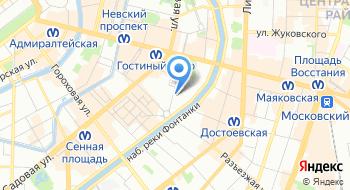 Академия Русского балета им. А. Я. Вагановой на карте