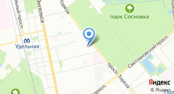 Учебный центр ГУП ТЭК СПб на карте