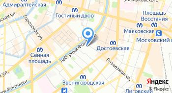 Северо-Западное Главное управление Центрального банка Российской Федерации на карте