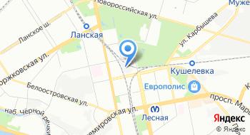 Югер на карте