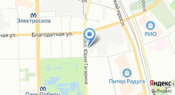 Лазерный центр на карте