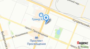 АвтоАКБ СПб на карте