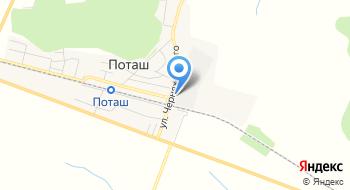 ДП Гак Хлеб Украины Поташское ХПП на карте