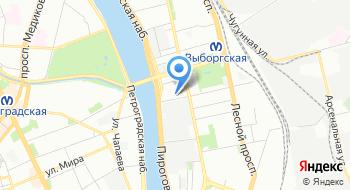 Торговый центр Сампсониевский на карте