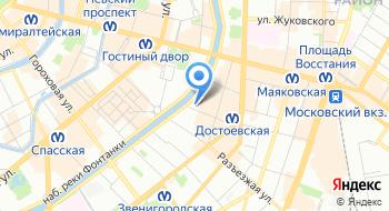 Аюрведический массаж в Санкт-Петербурге на карте