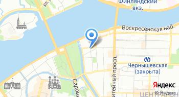 Газпром ЭП Интернэшнл Сервисиз БВ Филиал города Санкт-Петербург на карте