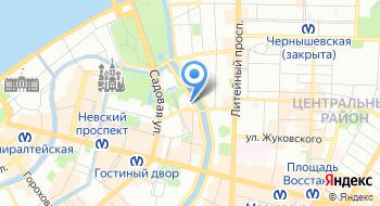 Большой Санкт-Петербургский государственный цирк на карте