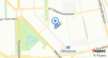 Газпром межрегионгаз, абонентский пункт в г. Санкт-Петербург на карте