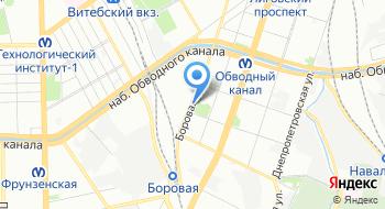 Поликлиника частных охранников и детективов на карте