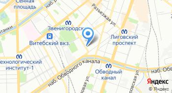 Частное общеобразовательное учреждение Школа Экспресс города Санкт-Петербурга на карте