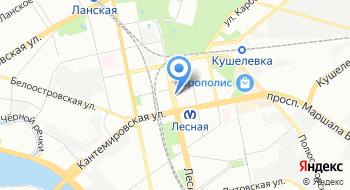 Банк Санкт-Петербург на карте