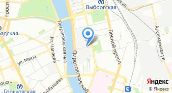 СПб Тюбинг на карте
