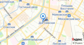 Русь-Дент на карте