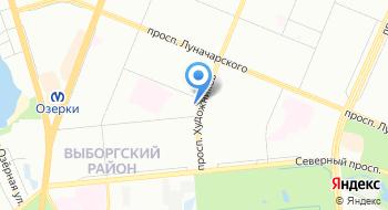 Петербургские просторы на карте