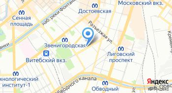 Санкт-Петербургская Международная товаро-сырьевая биржа на карте