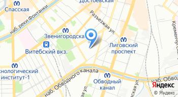 Физкультурно-оздоровительный центр Октябрьской железной дороги филиала РЖД на карте