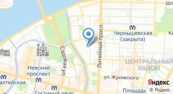 Санкт-Петербургский тендерный центр на карте