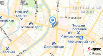 ГБУК Санкт-Петербургский государственный академический симфонический оркестр на карте