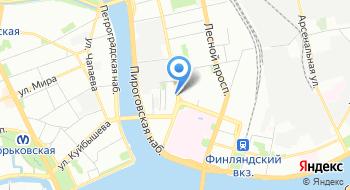 Подростково-молодежный центр Петроградский на карте