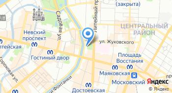 Филиал ВВК № 1 Фкуз МСЧ 78 Фсин России на карте