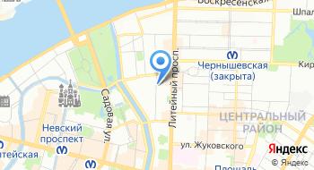 Пансион для пожилых Русь на карте