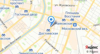 Студия 4Hands на карте