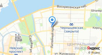 СПб Гбук МЦБС имени М. Ю. Лермонтова на карте