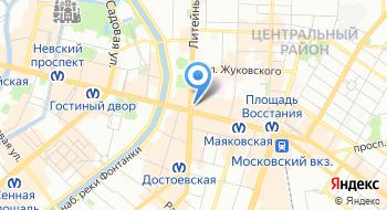 Школа Унисон на карте