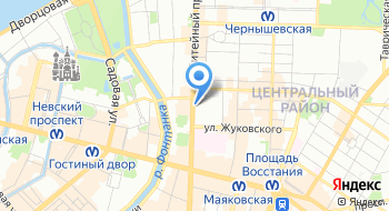 Спортивные лотереи СПб на карте