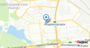 КНП Центр первичной медико-санитарной помощи Святошинского района г. Киева, Отдел неотложной медицинской помощи на карте
