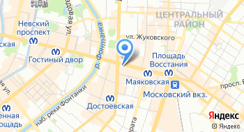 La strada на карте