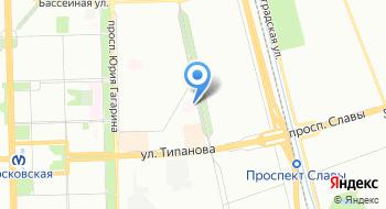 Городская поликлиника №51 на карте