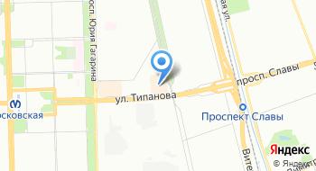 Автокресла СПб на карте