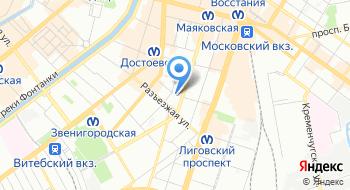 Юридическая фирма Юфит на карте