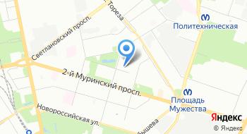 Центр защиты леса Ленинградской области на карте