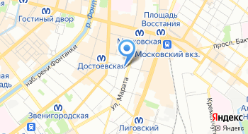 Бизнес-инкубатор СПбГЭУ на карте