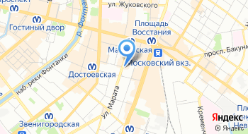 Асталь на карте