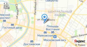 Российский научно-исследовательский нейрохирургический институт имени профессора А.Л. Поленова на карте